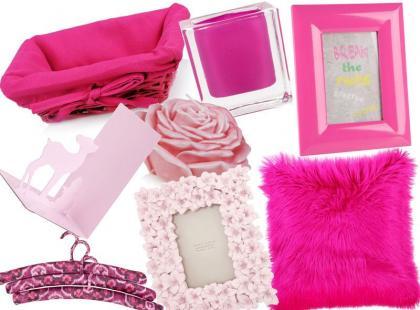 25 różowych dodatków do mieszkania