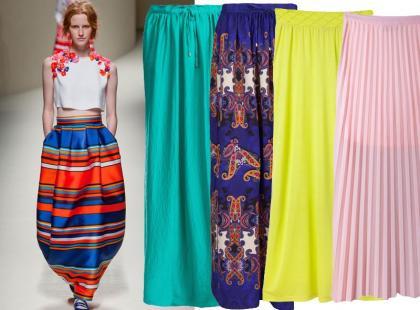 25 świetnych spódnic maksi na wiosnę i lato