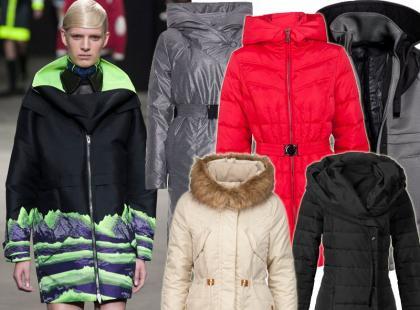 28 modnych płaszczy puchowych na tegoroczne mrozy
