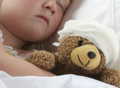 3-latka trafiła do szpitala przez żel antybakteryjny!