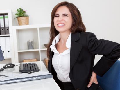 3 najczęstsze powody bólu pleców