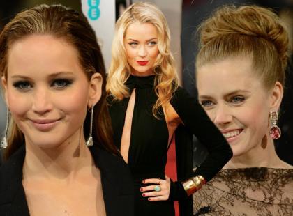 3 najlepsze makijaże i fryzury gwiazd na Bafta 2013