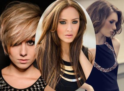 3 najmodniejsze fryzury damskie 2015 roku