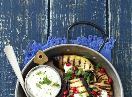 3 przepisy na grillowanego bakłażana