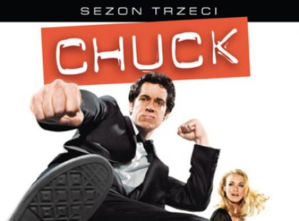 3. sezon "Chucka" już na DVD!