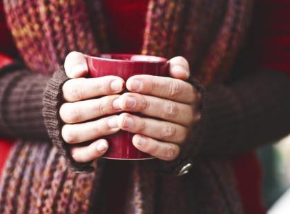3 sposoby na rozgrzanie się w zimny dzień!