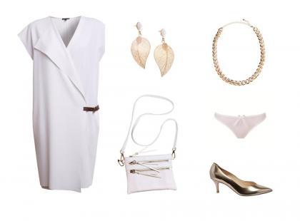 3 stylizacje na ślub cywilny z białą sukienką