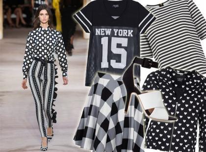 30 hitowych ubrań w trendzie black&white