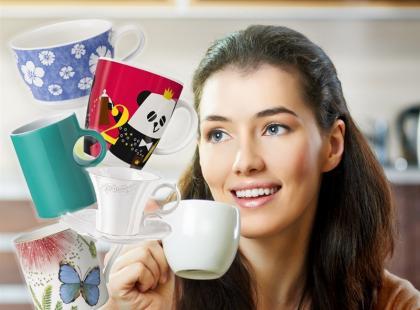 30 kubków i filiżanek idealnych do kawy i herbaty