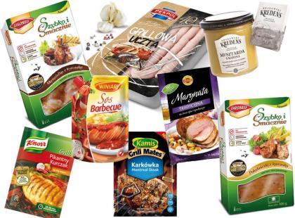 30 produktów niezbędnych na grilla