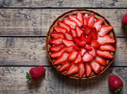 30 przepisów na pyszne ciasto z truskawkami