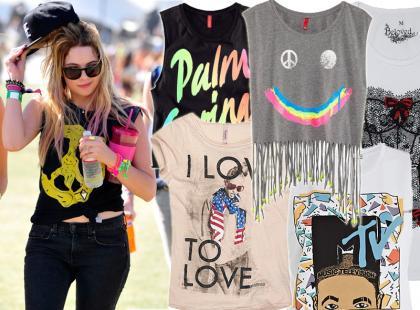 30 szałowych t-shirtów z nadrukami na wiosnę i lato 2013