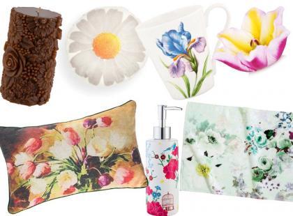 31 dodatków z motywem kwiatowym