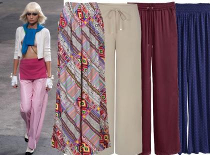 33 pary spodni typu palazzo idealnych na lato