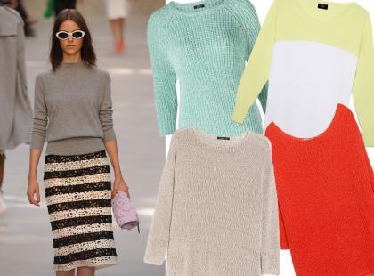 35 kolorowych sweterków idealnych na wiosnę