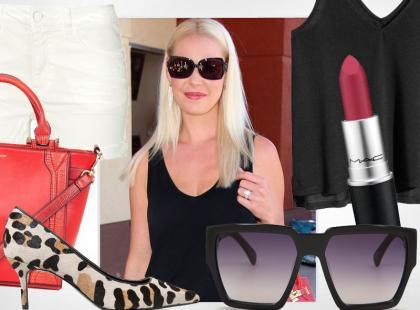 36-letnia Katherine Heigl w stylizacji na koniec lata