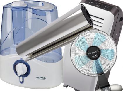 4 gadżety do ochłodzenia temperatury w mieszkaniu