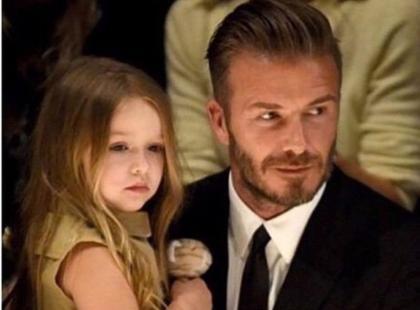 4-letnia Harper Beckham już przyucza się do zawodu?!