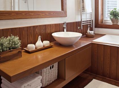 4 pomysły na schowki w małej łazience