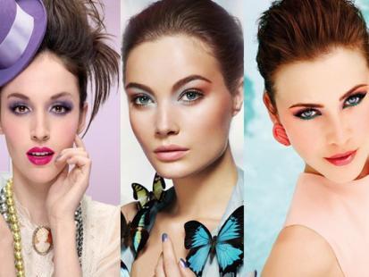 4 propozycje makijażu na wiosnę od znanych marek kosmetycznych