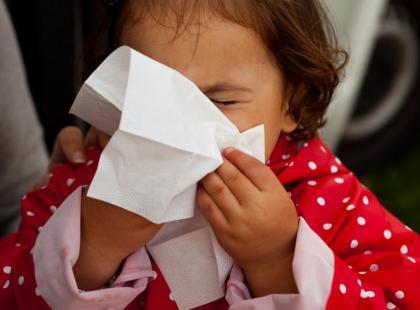 4 sposoby jak nauczyć dziecko dmuchać nos!
