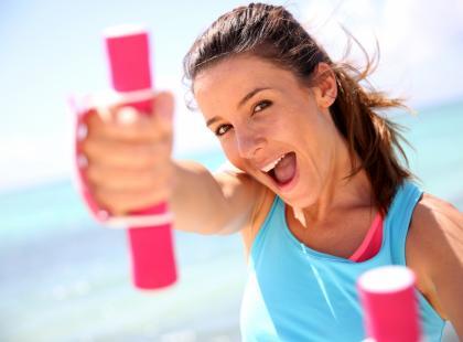 4 sposoby na bycie aktywną na plaży!