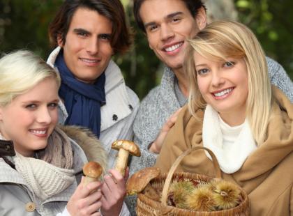 4 zasady zbierania grzybów