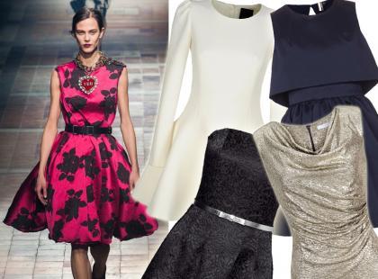 40 najładniejszych krótkich sukienek na studniówkę 2015