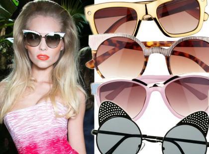 40 par modnych okularów na wiosnę 2014