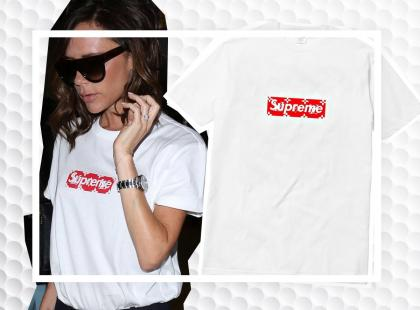 43-letnia Victoria Beckham w najmodniejszej koszulce sezonu