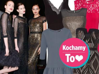 47 eleganckich sukienek z jesiennych kolekcji