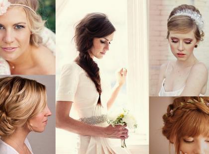 5 fryzur do ślubu, które zrobisz sama!