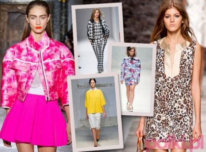 5 głównych trendów wiosna-lato 2014