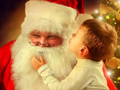 5 korzyści, jakie wynikają z wiary dzieci w św. Mikołaja
