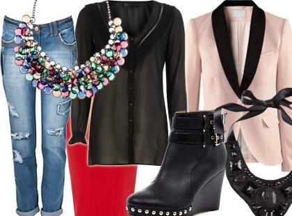 5 modnych stylizacji na zimę 2012/2013
