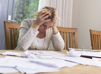 5 najczęstszych błędów finansowych