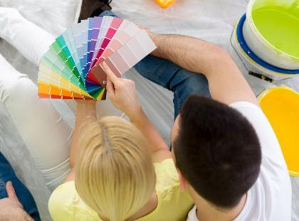 5 najmodniejszych w 2015 kolorów ścian