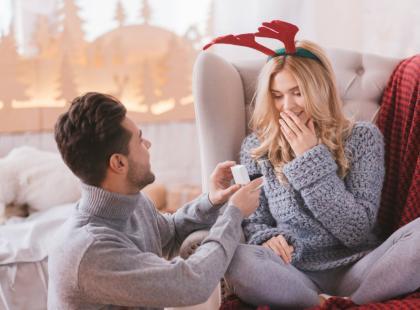 5 niebanalnych pomysłów na zaręczyny w święta!