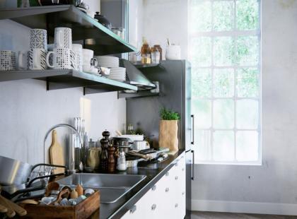5 pomysłów na przydatne schowki w kuchni