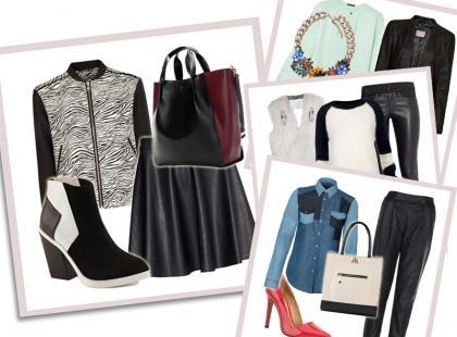 5 pomysłów na stylizacje z ubraniami z czarnej skóry