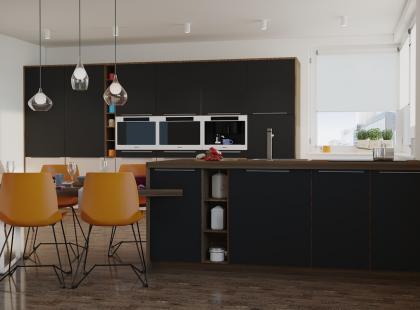 5 pomysłów na stylową kuchnię z kolorowymi akcentami