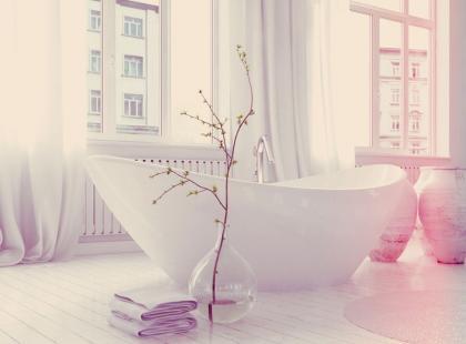 5 porad jak urządzić łazienkę w romantycznym stylu