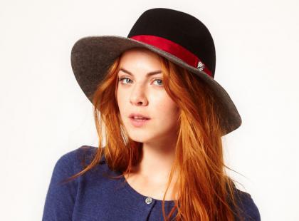 5 stylizacji z kapeluszami