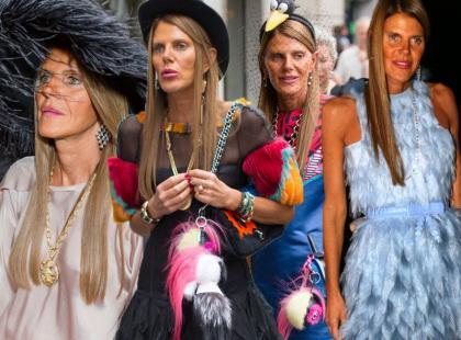 52-letnia Anna Dello Russo to najbarwniejsza fashionistka świata?