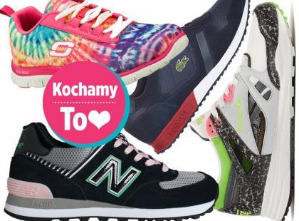 56 par butów sportowych z wiosennych kolekcji