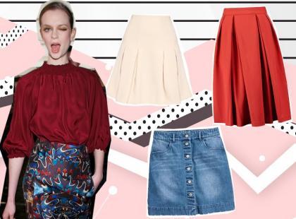 6 najmodniejszych modeli spódnic