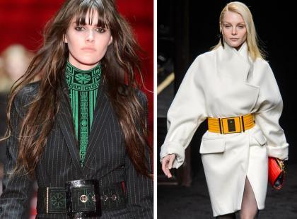 6 pomysłów jak modnie stylizować szeroki pasek
