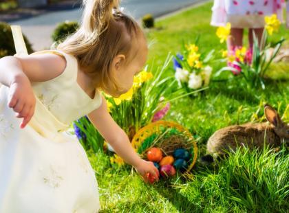 6 propozycji wielkanocnych zabaw z maluchem