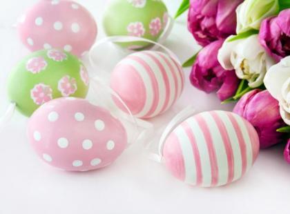 6 prostych sposobów na jajka wielkanocne