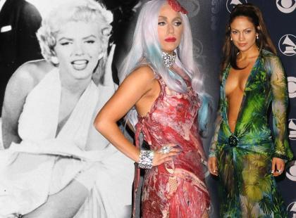 6 sukienek, które wstrząsnęły światem